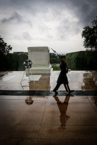 The CLCC group laid a wreath at Arlington Cemetery's Tomb of the Unknown Soldier. Photos by Pat Van Dyke
