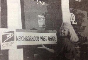 In June 1995, Debby Gagnon opened the doors of Pack Wrap and Post as the new neighborhood post office.