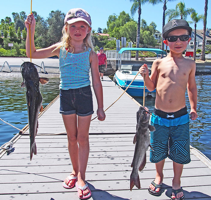 The Kids Fishing Derby has been a popular summer event for many years. Photo by Donna Kupke.