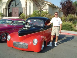 Joe showed his 1941 Willys' coupe at the first Canyon Lake Car Show in 2006. Photo by Marti Norris.