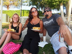 "For the Testi family, who moved to the community just last year, this summer is their first opportunity to experience Taco Tuesday. ""We will only make about four or five,"" says dad Corey. But daughter McKenzie and mom Tena agree that they have a great time and enjoy themselves each time."