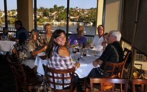 Many concert goers dined at the Lighthouse Restaurant the night of the concert and received a 10 percent discount on their meals.