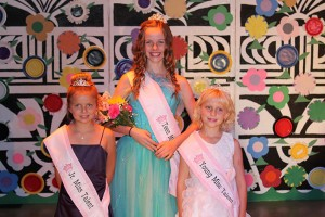 Members of the Talent Court are Jr. Miss Talent Mackenna Keith, Teen Talent Jenna Daniel Young Miss Talent Portia Dodd. Photos provided by Coco Morrison