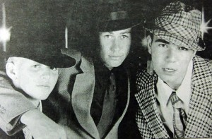 "In October 1995, Eric Myre, Daniel Myre and Sam Loya performed in the CLCT production of ""Guys and Dolls."""