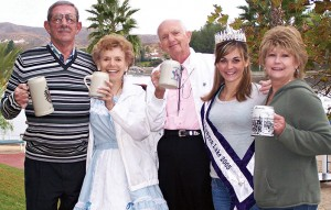 In October 2005, Paul Weber of CLAMS, Ellen and Ray Kellett of Twirlers, Carly Henricksen of the Royal Court and Cathy Zaitz of the Home Owners Club were inviting residents to Oktoberfest at Indian Beach.