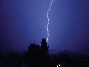 In September 2005, remnants of Hurricane Max caused an all-night thunderstorm in Canyon Lake, with 5,000 lightning strikes between midnight and 6 a.m. reported across Southwest County.