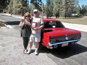 Best Mustang went to Lee and Marti Norris' 1966 Ford Mustang GT. Photos provided by Lee Norris.
