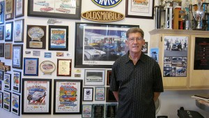 A lot of car show history and awards, much from Canyon Lake, are represented on the walls of Joe's garage. For more photos of the Car Show's history, visit fridayflyer.com. Photo by Sharon Rice.