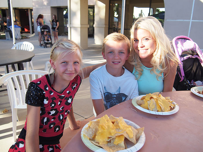 The Newans are brand new residents, having lived in Canyon Lake for only three days. Keira will be in the 4th grade at Cottonwood Canyon Elementary, and Kai will be a 6th grader at Canyon Lake Middle School. They have a newborn sister, Berlyn, who is 7 weeks old. Photos by Donna Kupke.