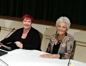 Vicki Warren & Dawn Haggerty, Councilwoman