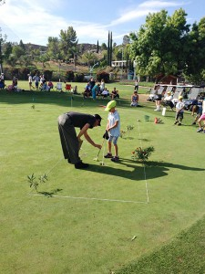 The Junior Golf Clinic is scheduled for July 13 to 17 with the Golf Pro Shop staff and the Family Golf Club.