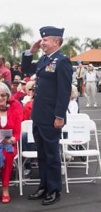 Lt. Col. Blake LaMar, USAF, was last year's keynote speaker.