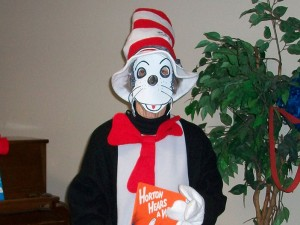 Will the Cat in the Hat be back? Check at the Library today at 11:30 a.m.