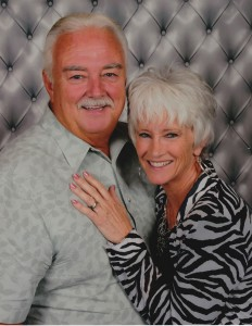 The couple met online in 2008 and moved to Canyon Lake six years ago.
