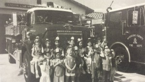 In April 1986, Daisy Troop 793 took a field trip to the Canyon Lake Fire Station.