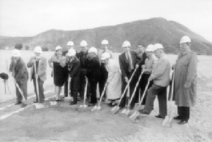 In April 2001, local civic leaders donned hard hats to break ground for Canyon Lake Middle School and Cottonwood Canyon Elementary School.