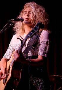 Tori Kelly performs at Hotel Cafe in 2015. (Photo by Justin Higuchi - Zane Carney 01/12/2015 #7. Licensed under CC BY 2.0 via Commons) Photo by Justin Higuchi-Zane Carney