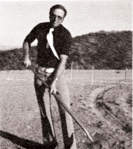 In March 1976, as building chair of the new Canyon Lake Community Church, Don was pictured breaking ground on the Sorrel Lane site.