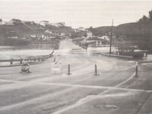 In March 1991, three days and four inches of pouring rain resulted in water overflowing the North Causeway and almost closing the Main Causeway.