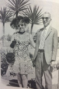 Gladys and Andrew Miller were among those enjoying Easter dinner at the Lodge in April 1971