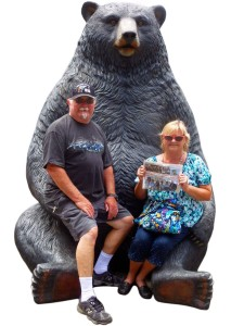 "Hans and Linda Weg are well known to readers for their many trips in ""Near and Far with The Friday Flyer."" Here, they're pictured on a recent road trip to Oregon."