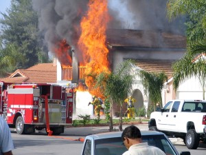 In May 2006, six engines and 20 firefighters were dispatched to this house fire.