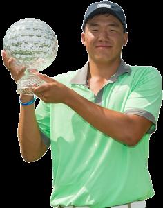 DROPOUT Norman Xiong w trophy