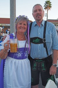 Oktoberfest is set for October 15 in the Towne Center. Photo by Donna Kupke