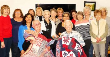Quilters present Quilts of Valor to veterans