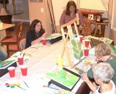 Canyon Lake Art Association painting for scholars