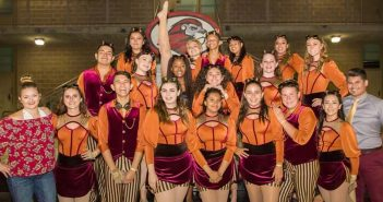 TCHS Winter Color Guard earns silver medal