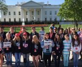 CLMS students explore Washington D.C., NYC