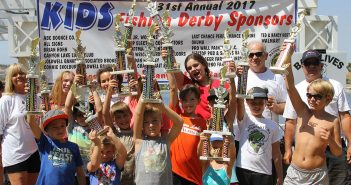 Young anglers compete in Kids Fishing Derby