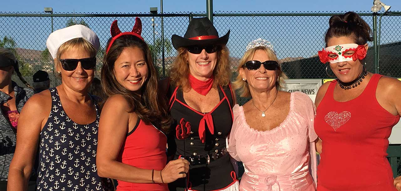The Friday Flyer Tennis Club Hosts Halloween Costume Mixer