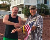 Volunteers deliver flags to CL veterans