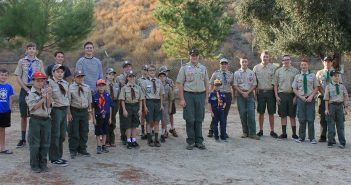 Eagle Scout donates new flagpole to Happy Camp