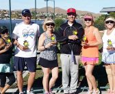 Tennis Club announces tournament winners