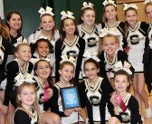 CLMS competition cheer team wins first place