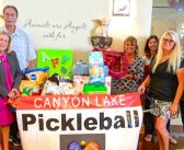 AFV receives donation from Pickleball Club