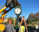 CLAPPS donates street clock to golf course
