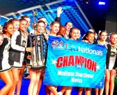 CLMS competition cheer team wins at nationals