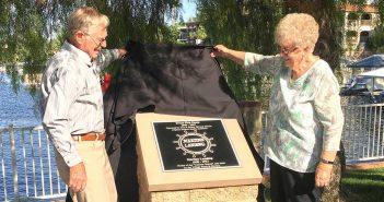 Historical marker honoring Martin family unveiled