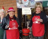Clubs collect donations for Salvation Army
